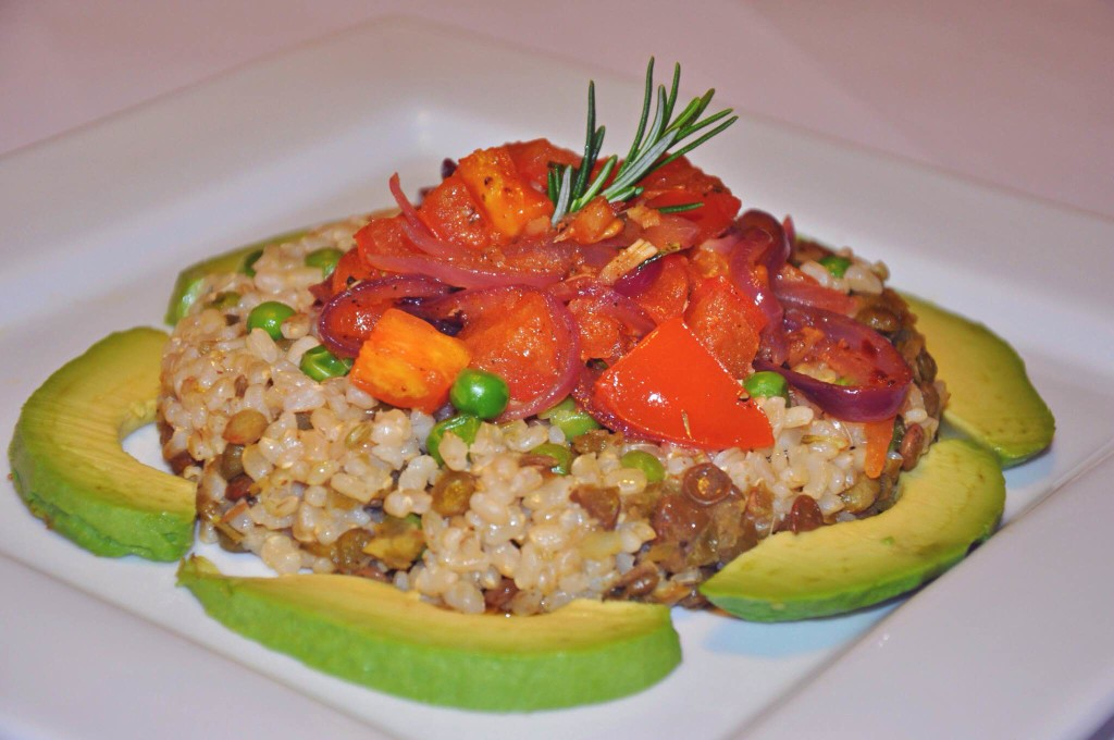 steamed super grains